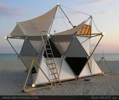 Stellated octahedron Tent
