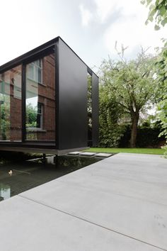 House VH (Restoration/Expansion)   Brugge, Belgium   CAAN Architecten   photo by…