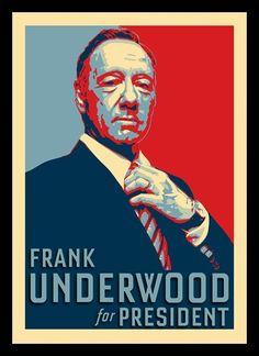 Quadro Poster Series House of Cards 1 - Decor10
