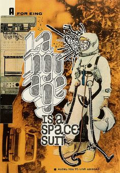 collage - Language SpaceSuit by hugowerner, via Flickr
