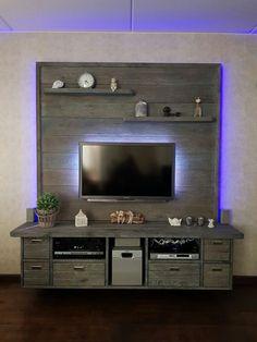 meuble tv palette
