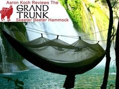 Relaxing just isn't as good without a Grand Trunk hammock in your pack! :)