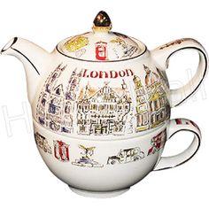 Sadler Teapot, London Town, Tea-For-One