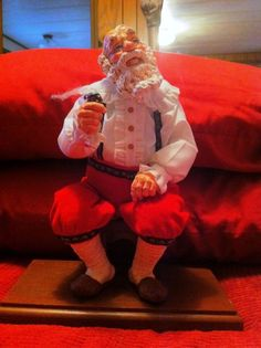 Simpich Santa Character Doll in Other   eBay