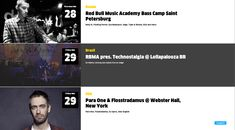 Events from Red Bull Music Academy › PatternTap