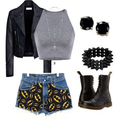Untitled #6 by kaylabayla243 on Polyvore featuring polyvore, fashion, style, Balenciaga, Dr. Martens, B. Brilliant and Miss Selfridge