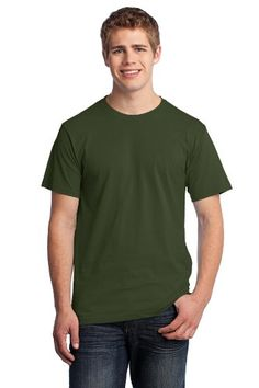 Fruit of the Loom 5.4 oz.Cotton T-Shirt $1.63