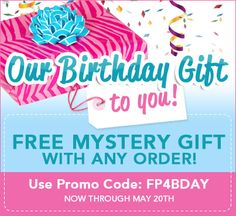 SURPRISE! To celebrate our 4th birthday, we're giving away tons of awesome gifts!!    'Like'/Repin to spread the b-day love~
