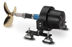 The DriveMaster Classic 2.5 and 3.6 are compact and lightweight systems, ideal for small spaces. The motor offers high torque at low RPM's so it can be directly coupled to the propeller shaft without a reduction gear. Quiet and efficient, this is one of the most popular systems for small to medium sized boats.