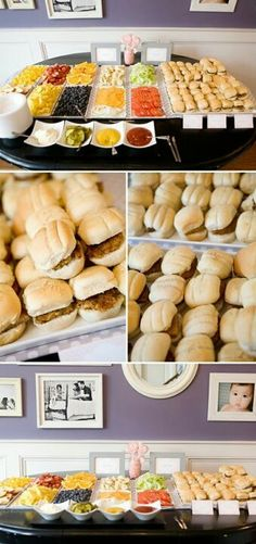 Burger bar - perfect for a party!