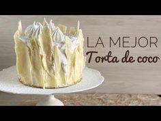 LA MEJOR TORTA DE COCO HÚMEDA Y SUAVE - YouTube Pavlova, Chocolate Hearts, Vanilla Cake, Camembert Cheese, Muffins, Bakery, Cooking Recipes, Sweet Ideas, Desserts