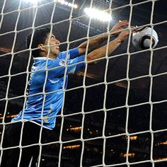 """Luis Suarez, Uruguayan football player, racist and world-class cheater. The Ghana side would have won their quarter-final match of World Cup 2010 had the Uruguayan not palmed Dominic Adiyah's goalbound header off of the line, with the goalkeeper already beaten. He didn't just use one hand, but both. Using your hands in football (soccer) is strictly forbidden. During a game on 15 October 2011, Patrice Evra claimed Suárez racially abused him """"at least 10 times"""". Calling him a """"negro."""""""