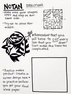 Kunst GS Teach and Shoot: Art Room Handouts [Round One] NOTANS - positive negative space - element o High School Art, Middle School Art, Chuck Close Art, Art Positif, Notan Art, Arte Elemental, Classe D'art, 7th Grade Art, Grade 1