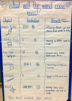 What Will the Wind Move? An inquiry about wind and air in kindergarten