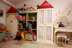 ארונות אחסון בחדר משחקים / אדריכלית שירלי דן - אורלי רובינזון, האתר הישראלי לעיצוב