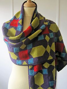 Ravelry: Moroccan Tile Wrap pattern by Jane Crowfoot