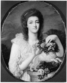Princess Varvara Nikolaevna Gagarina (1762–1802) Jean-Baptiste Greuze  (French, Tournus 1725–1805 Paris) Date: ca. 1780–82 Medium: Oil on canvas Accession Number: 65.242.3