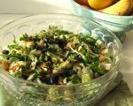 Egyptian Chickpea & Avocado Salad