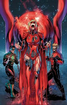 Supergirl Comic Box Commentary: Kara As A Red Lantern ... Really??