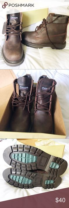 Great land Rugged Footwear Steel Toe Boots Size 9 New with tags, these have  never been worn. These can double as a solid steel-toe work boot or dress  them ...