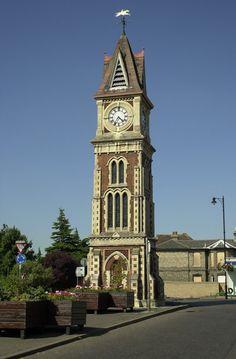 Clock Tower, Newmarket, Suffolk, England.