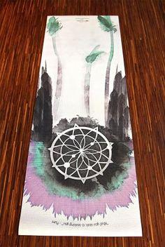 La Vie Boheme Yoga Mat Warrior Lavender