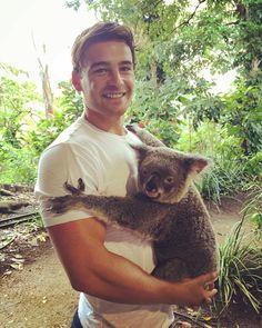 Meet Abi she gives Koala-ity hugs  #australia #koala #currumbinwildlifesanctuary by brin_berold http://ift.tt/1X9mXhV