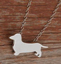 silver-dachshund