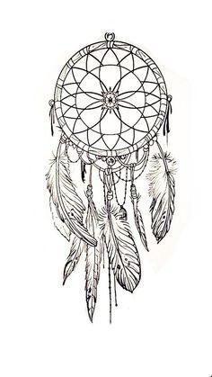 New Tattoo Feather Color Dream Catchers 18 Ideas - Tattoo Vorlagen Zeichnung Tattoos Skull, Feather Tattoos, New Tattoos, Sleeve Tattoos, Cool Tattoos, Heart Tattoos, Dream Catcher Drawing, Dream Catcher Tattoo Design, Feather Dream Catcher