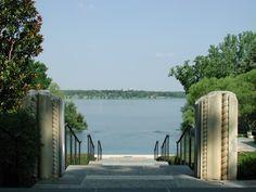 Dallas Arboretum-Summer at the Arboretum-A Woman's Garden Infinity Pool