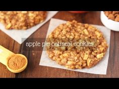 Apple Pie Oatmeal Cookies {Recipe Video!} | Amy's Healthy Baking