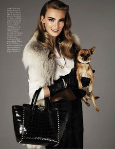 Ymre Stiekema Dons Ladylike Style in Giampaolo Sgura's Vogue Spain Shoot