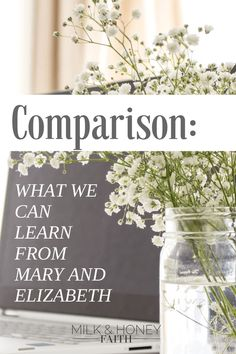 Comparison: What we can learn from Mary and Elizabeth. Learn how to overcome the temptation of comparison.