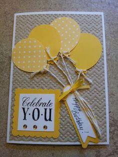 Amuse Studio, Embossing Folder, Greeting Card, Happy Birthday, Impression Obsession, POC, Spellbinders