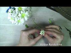 КЛЕВЕР ИЗ ФОАМИРАНА для летнего веночка/МК/2 часть/ПОЛЕВЫЕ ЦВЕТЫ - YouTube