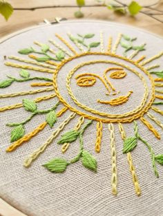 PDF embroidery patterns for beginners and for everyone. by AnichArtHoop Etsy Embroidery, Embroidery Hoop Art, Vintage Embroidery, Cross Stitch Embroidery, Indian Embroidery, Simple Embroidery Designs, Embroidery Stitches Tutorial, Embroidery Flowers Pattern, Diy Broderie