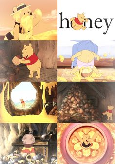 The Happiest Blog on Earth:  Winnie the Pooh & Honey