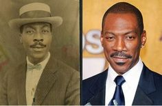 25 Celebrities With Historical Look Alikes That Will Leave You Thinking They Are Time Travelers. Just look at the Eddie Murphy Look Alike, Mind Blown Eddie Murphy, Murphy Actor, Celebrity Look Alike, Celebrity Photos, Celebrity News, Celebrity Style, Celebrity Babies, Jay Z, Actor