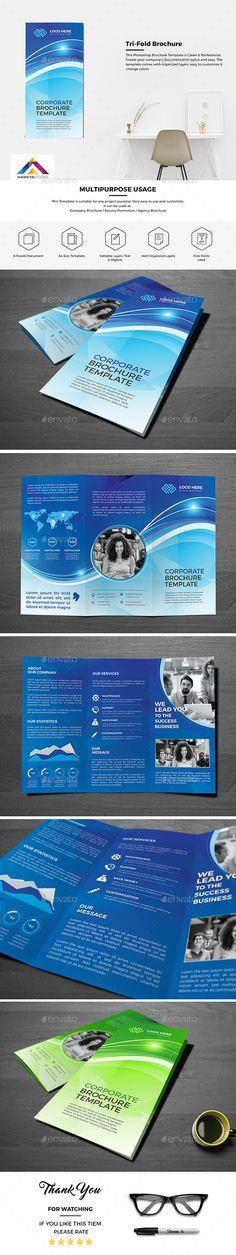 Gift Shop Tri fold Brochure Tri fold brochure, Brochures and - technology brochure template