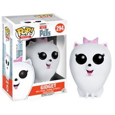 The Secret Life of Pets Gidget Pop! Vinyl Figure - Funko - Secret Life of Pets - Pop! Vinyl Figures at Entertainment Earth