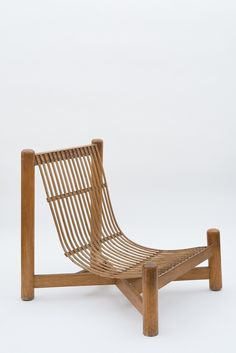 Charlotte Perriand, Low chair, c. 1950 / Pace Gallery