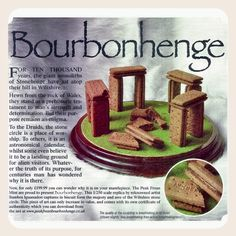 Bourbonhenge - Quite possibly the finest biscuit monument ever. by glazyuk