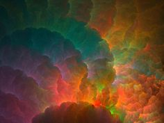 Fractals; thunder clouds...