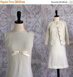 Vintage 1960s Cocktail Dress 60s Party Dress by SassySisterVintage