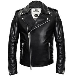 SBCR Leather Jacket via Anvil Motociclette - Shop Online. Click on the image to see more!