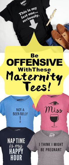 e8f5c7d1fc65 Crazy Dog T-Shirts · The Mother Board · Be offensive with these maternity  tees! Because you're not a regular mom,