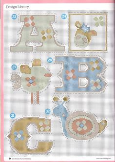 Patchwork Pastels by Lucie Heaton The World of Cross Stitching Issue 161 Hard Copy Cross Stitch Numbers, Cross Stitch Letters, Cross Stitch For Kids, Cross Stitch Boards, Cross Stitch Baby, Blackwork Patterns, Cross Patterns, Counted Cross Stitch Patterns, Cross Stitch Embroidery