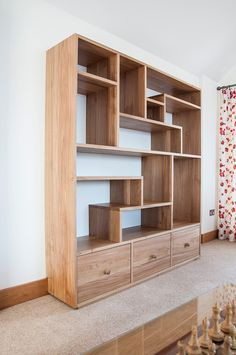 Beautiful bespoke free standing furniture designed and made from a variety of woods.