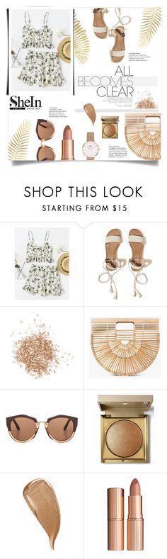 """SheIn Contest"" by here-comes-caroline ❤ liked on Polyvore featuring Hollister Co., Topshop, Cult Gaia, Marni, Stila, Kevyn Aucoin, Charlotte Tilbury and Daniel Wellington"