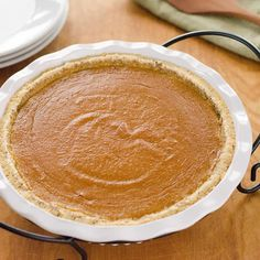 This paleo pumpkin pie recipe is a quick and easy gluten-free pumpkin pie for fall or Thanksgiving. It's grain-free and refined sugar-free.